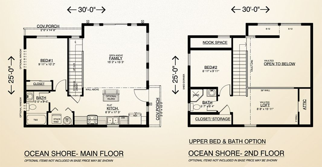 Ocean Shore Home Plan Multi Level Two Story Home Built On Your Lot Fully Customizable Floor Plan With Quality House Plans Floor Plans Custom Home Builders