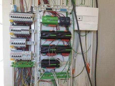 Début de la mise en place de la domotique Loxone loxone - cable d alimentation electrique pour maison
