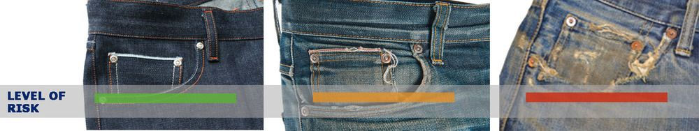 How ripped should be your Denim.. #denim #CoinandFront #Pocket #iammr