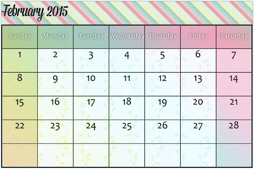 February 2015 Calendar Template 365 Printable Calendar June Calendar Printable August 2014 Calendar July 2014 Calendar