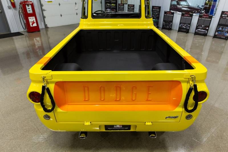 1969 dodge a100 v8 custom pickup cars trucks by