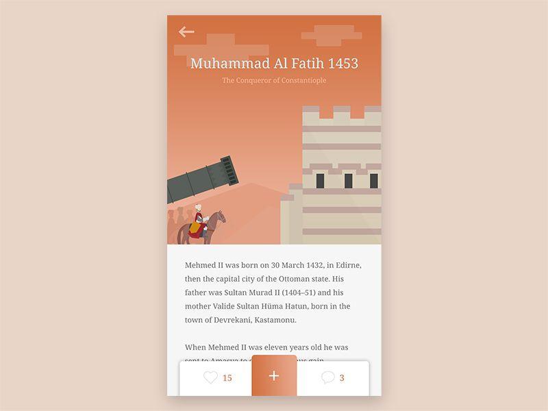 Read Story Apps - Muhammad Al Fatih by Bagus Fikri