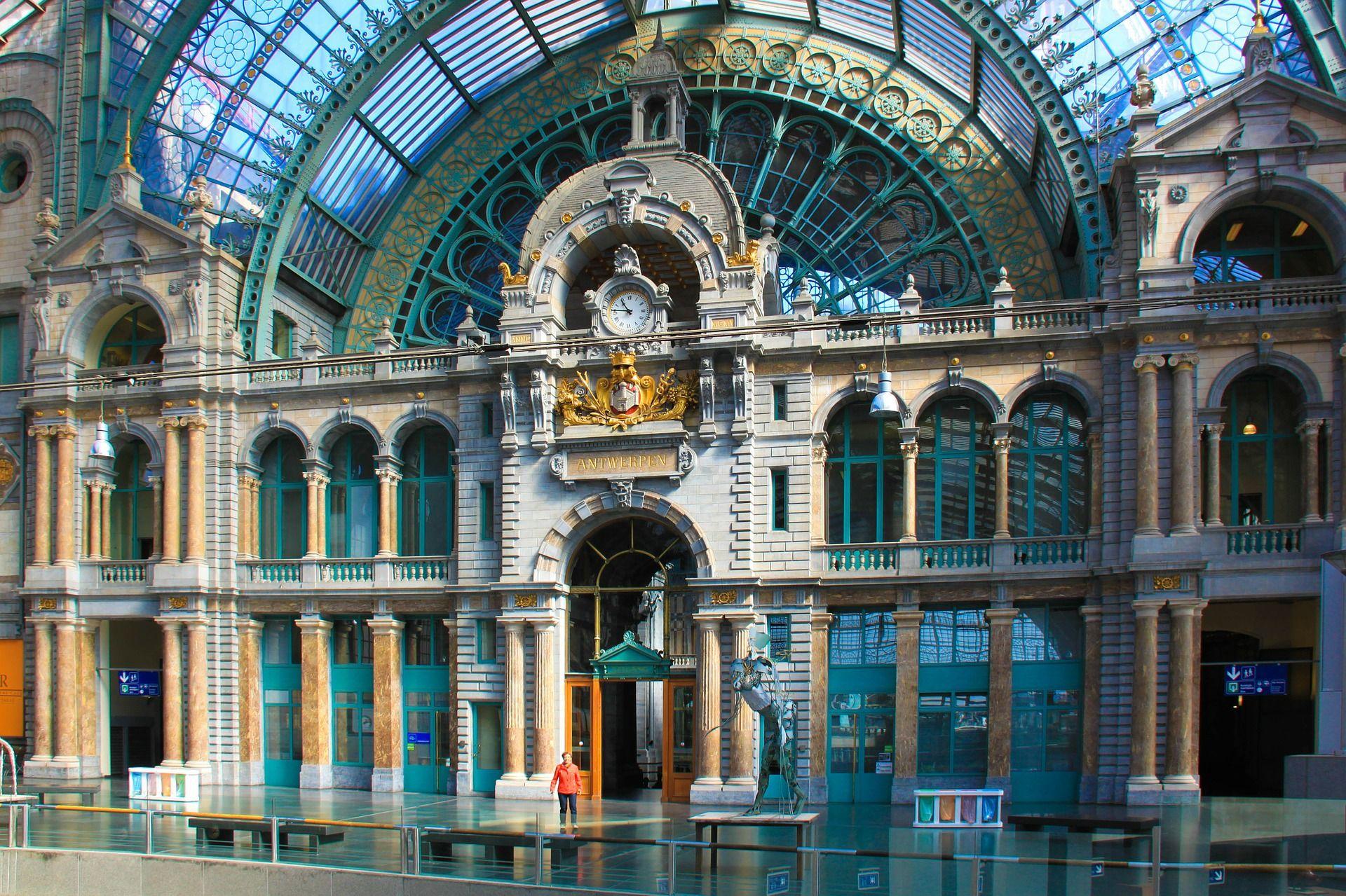 Antwerp Railway Station Belgium Station