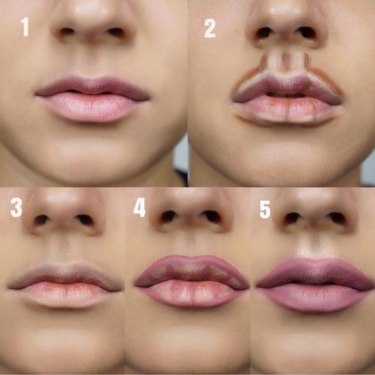 Photo of Step by step. Do you contour your lips? ? . . Cr @makeupere . . . . #contour …