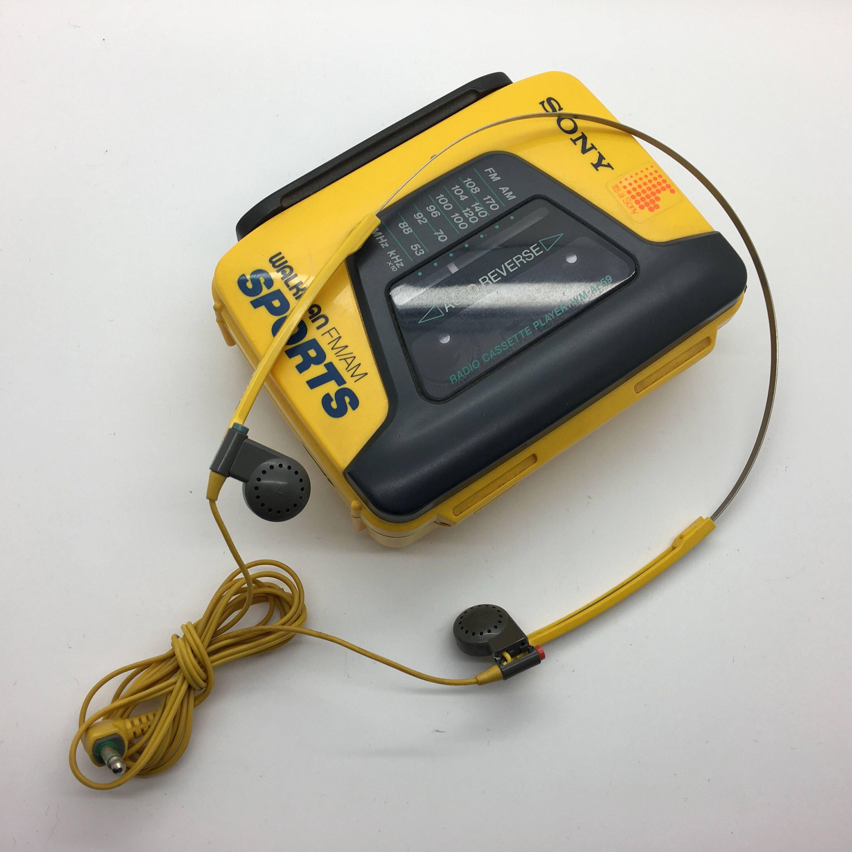 Sony Walkman Sports WMAF85 Tape/Radio Portable Player