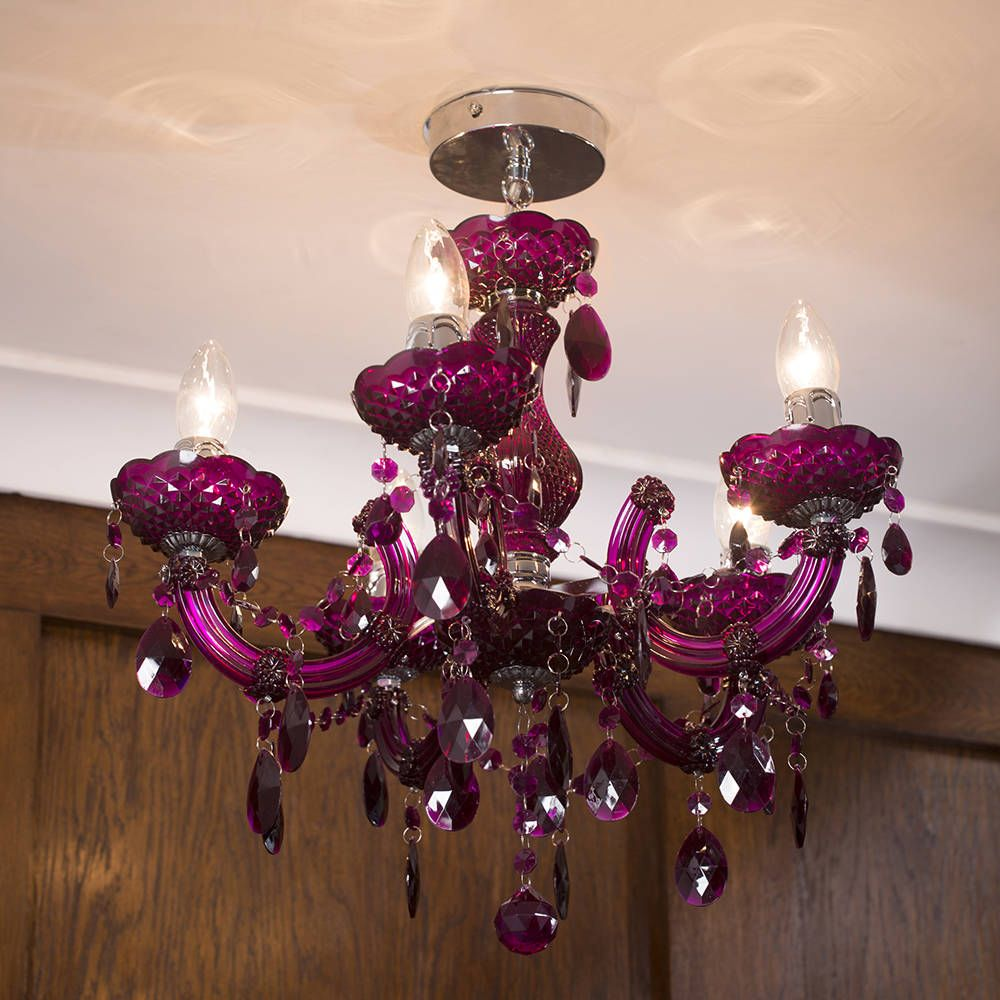 Pin by Catherine Mooney on Home Decor | Colorful chandelier