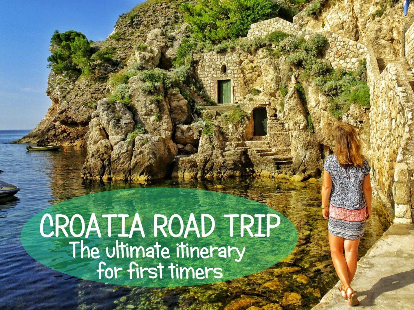 Croatia Roadtrip Itinerary Road Trip Croatia Travel Road Trip Itinerary