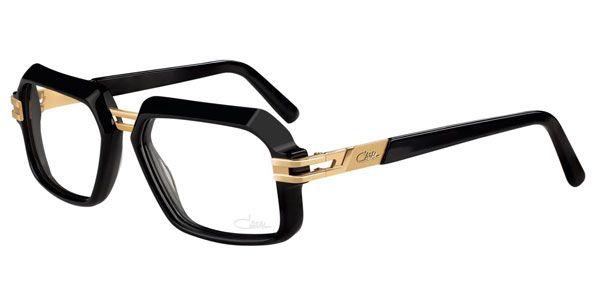 959b8308b Os elegantes e populares Óculos de Grau Cazal 6004 estão disponíveis em  armações Dourado Preto Brilhoso