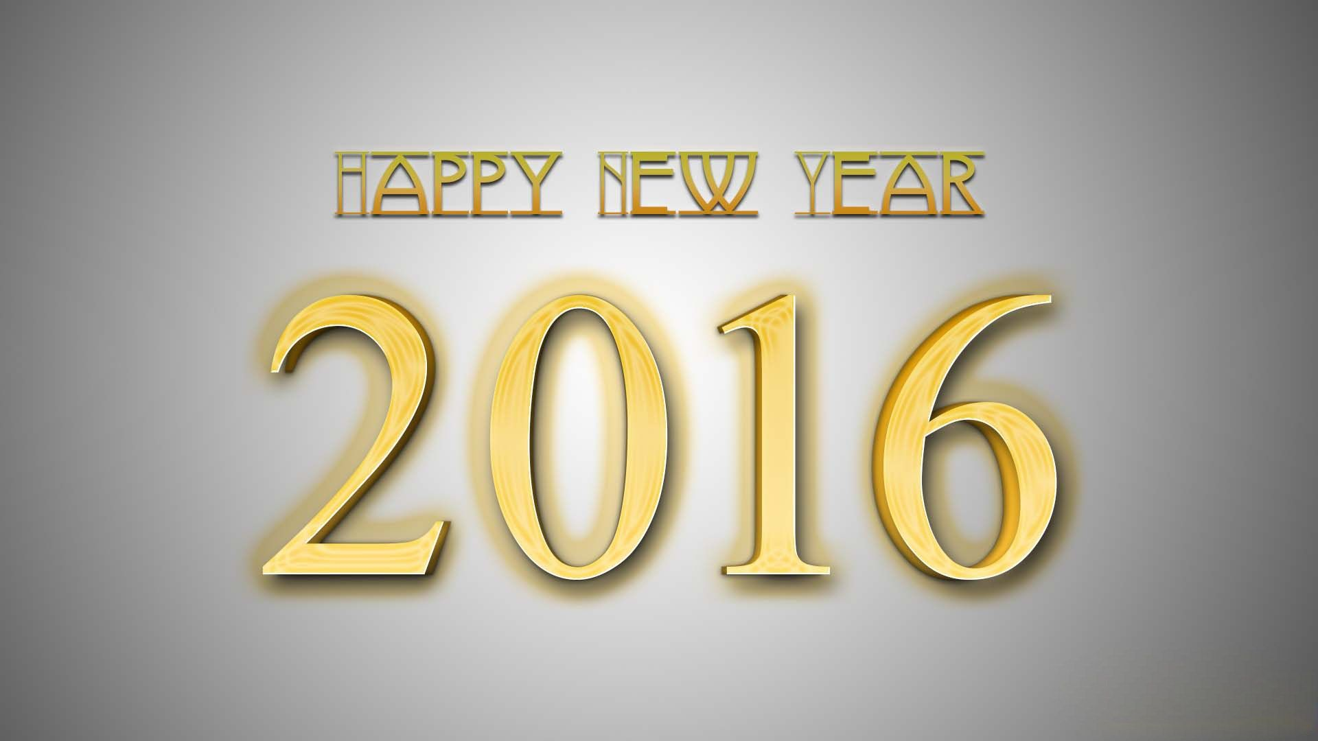 Widescreen Wallpapers New Year 2016 Backround  New Year 2016