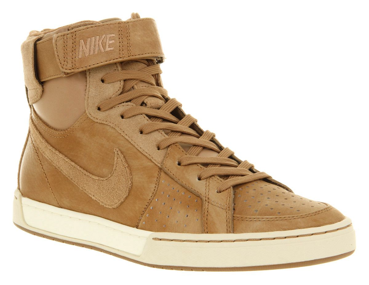 Nike Air Flytop SHOES Pinterest Trainer shoes, Brown suede