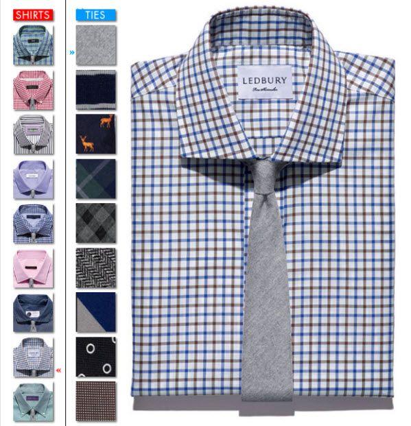 A combinação da cor da camisa e gravata. Como escolher a