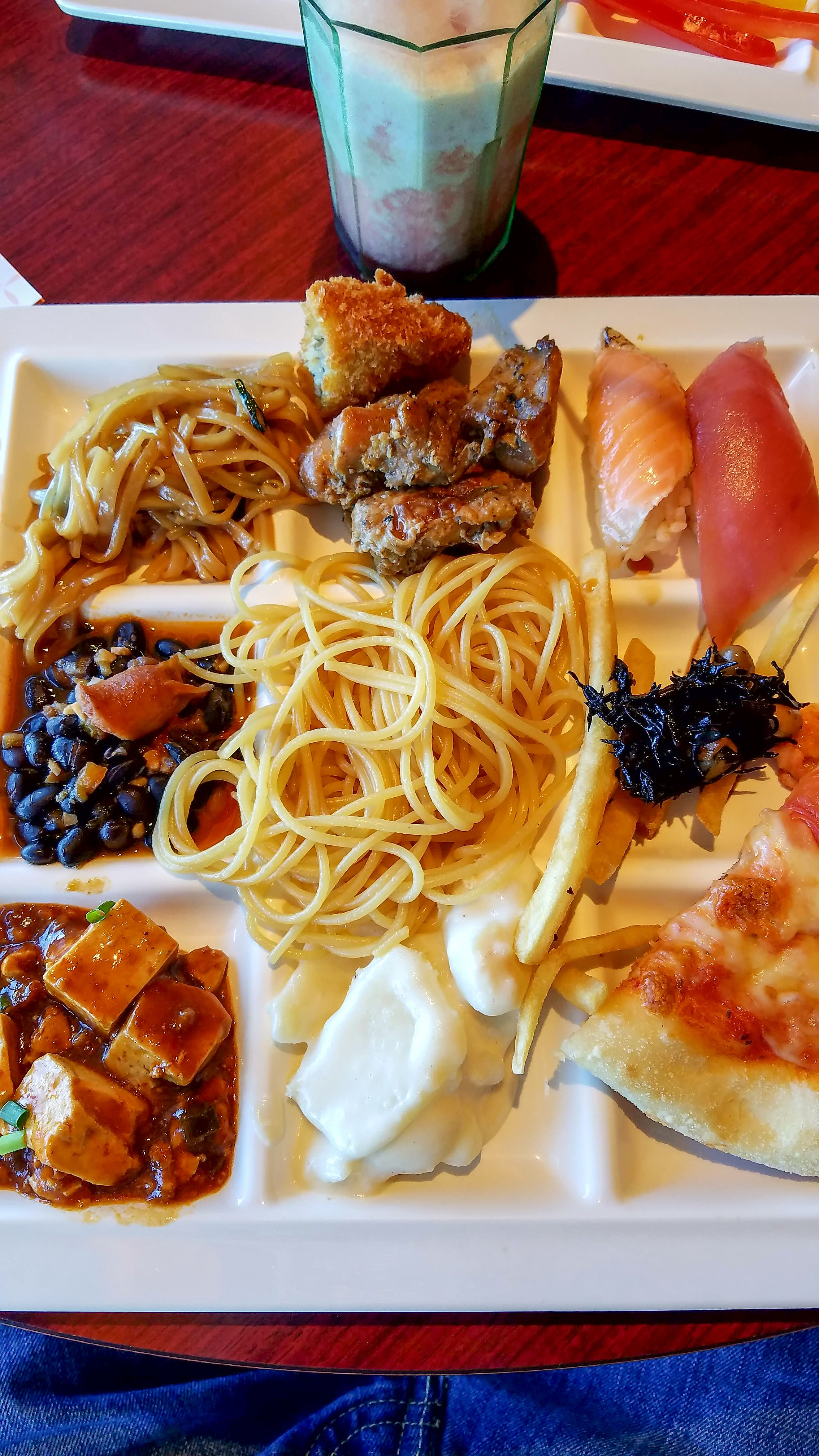 All you can eat buffet in odaiba tokyo japan eat