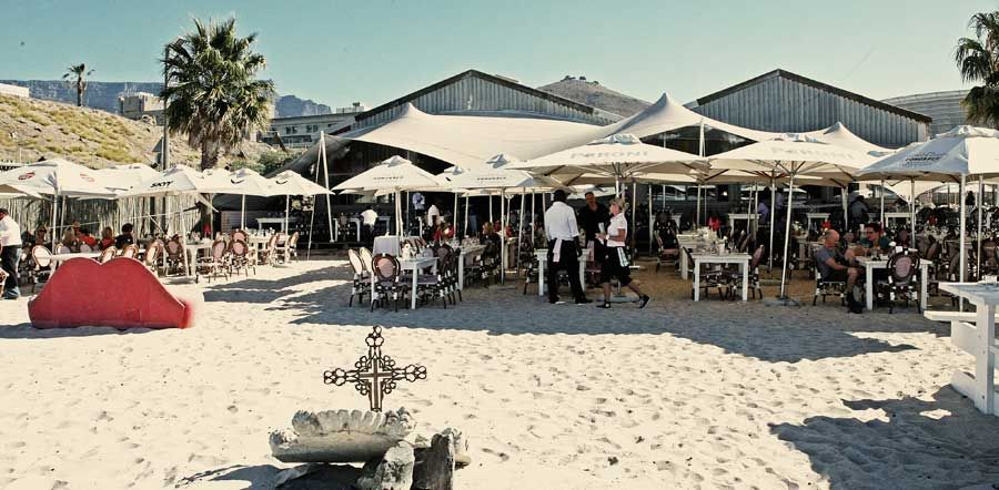 The Grand Cafe Beach Set On The Lip Of A Fashioned White Beach At Granger Bay Adjacent Cape Towns Va Waterfront