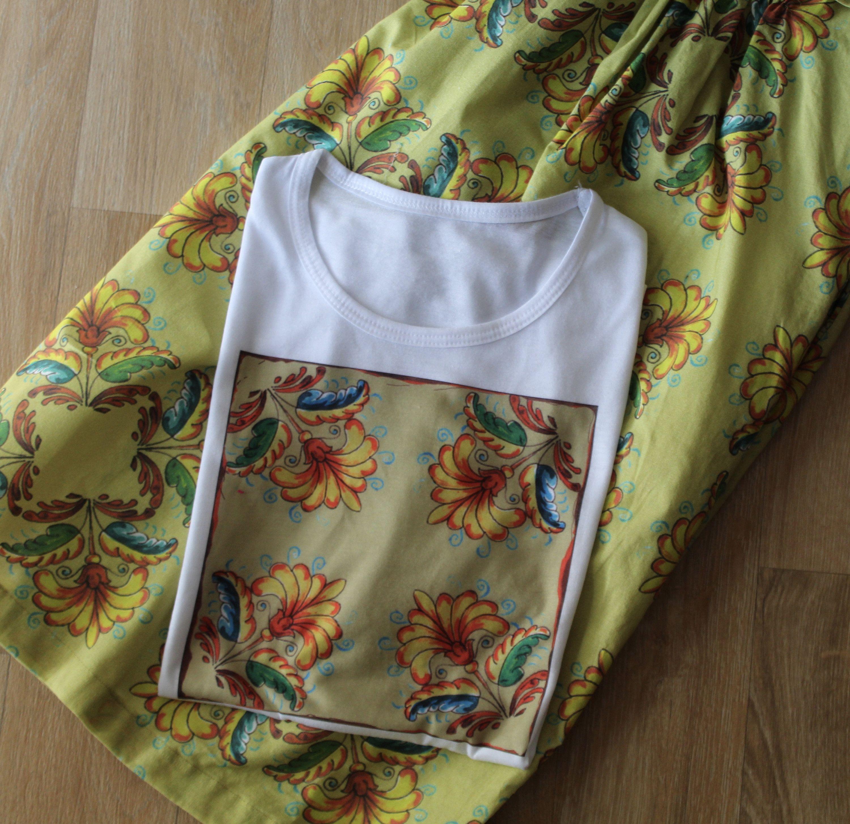 Camiseta Para Mujer Estampada Camiseta De Diseño Diseño Textil Camiseta Azulejo Recuerdo De España Camisetas Mujer Faldas Estampadas Camisetas