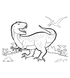 Allosaurus Colouring Page Dinosaur Coloring Pages Coloring Pages Animal Coloring Pages