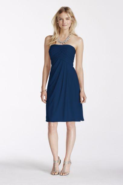Bridesmaids Dress Color Marine Blue