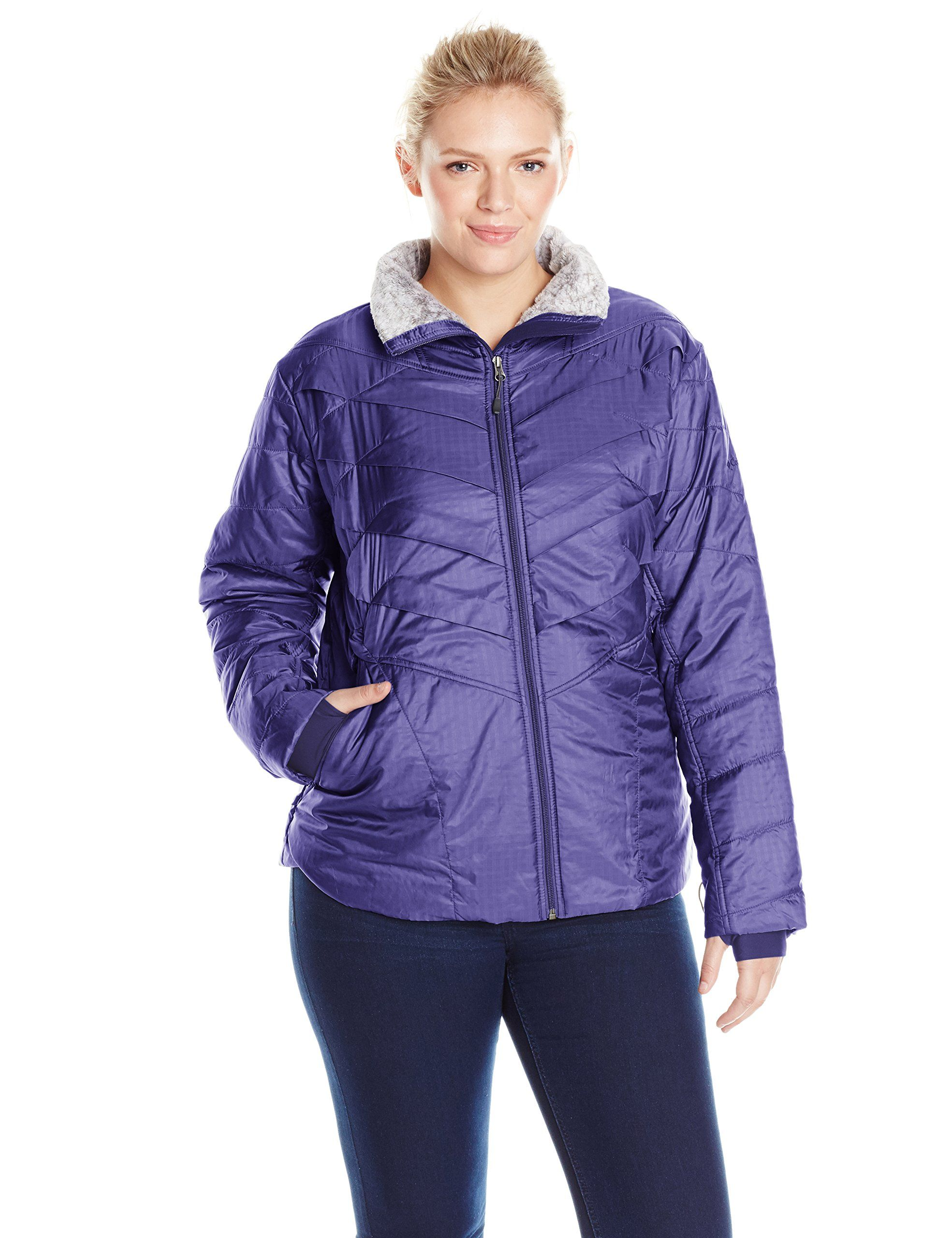 Columbia Women S Plus Size Kaleidaslope Ii Jacket Nightshade 3x Omni Heat Thermal Reflective And In Coats Jackets Women Sportswear Women Columbia Sportswear [ 2560 x 1969 Pixel ]