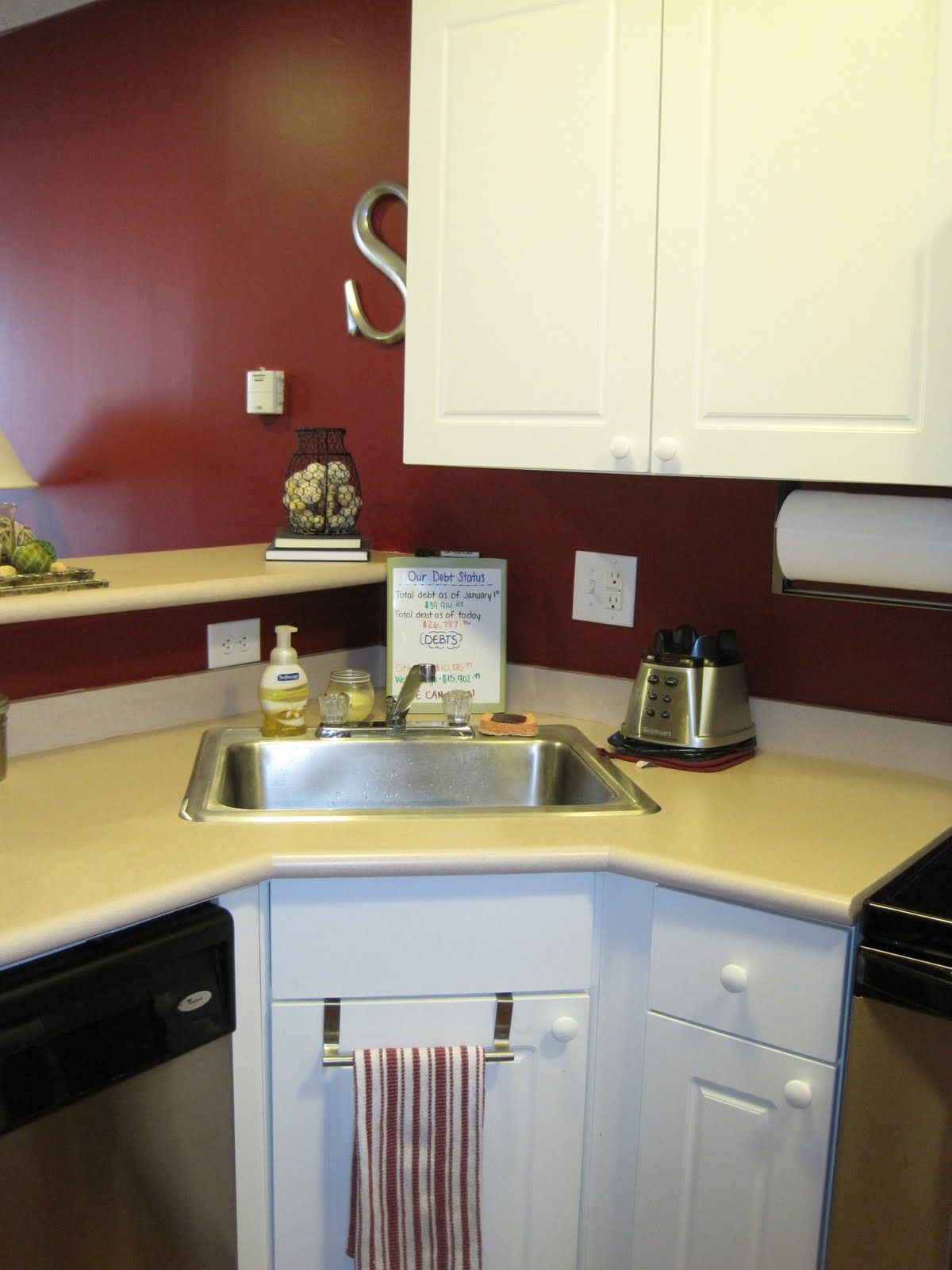 Small Corner Kitchen Sink : Modern Small Corner Kitchen Sink Design Interior Images Fed