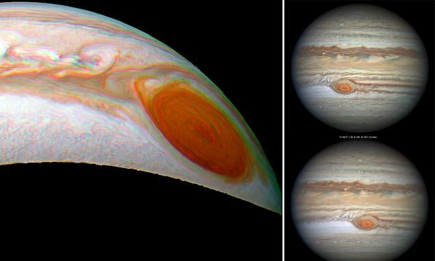 New Jupiter Image Is Our Best Ever Look At The Planet And ... |Solar System Jupiter Red Spot