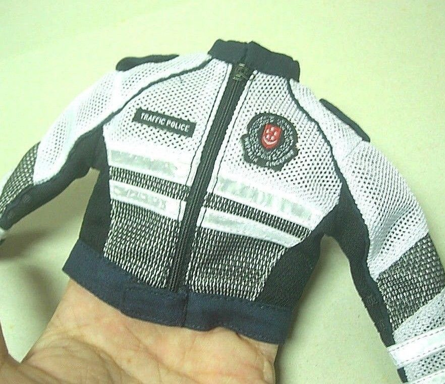 16 scale custom singapore traffic police motorbikecycle