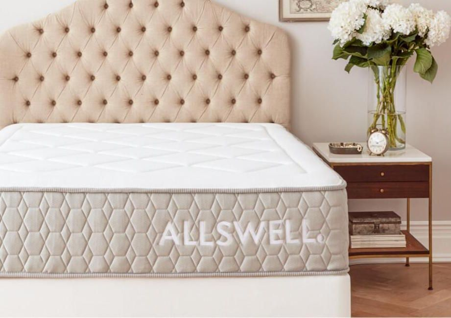 Allswell Review Is The Allswell The Best Bed In A Box Budget Option Wohnidee By Woonio Hybrid Mattress Box Bed Best Mattress