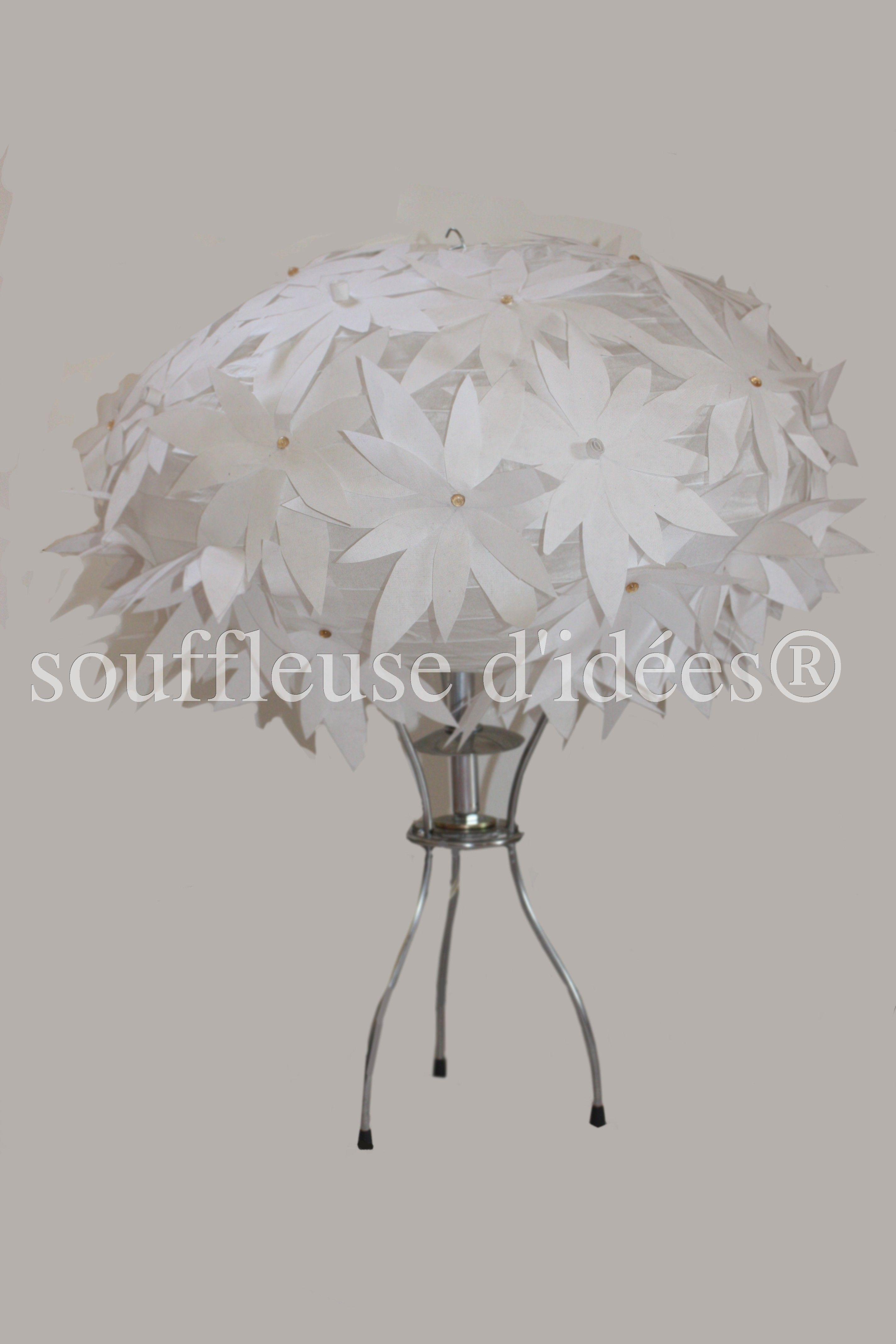 Lampe Fleur De Souffleuse D Idees Creations Souffleuse D Idees