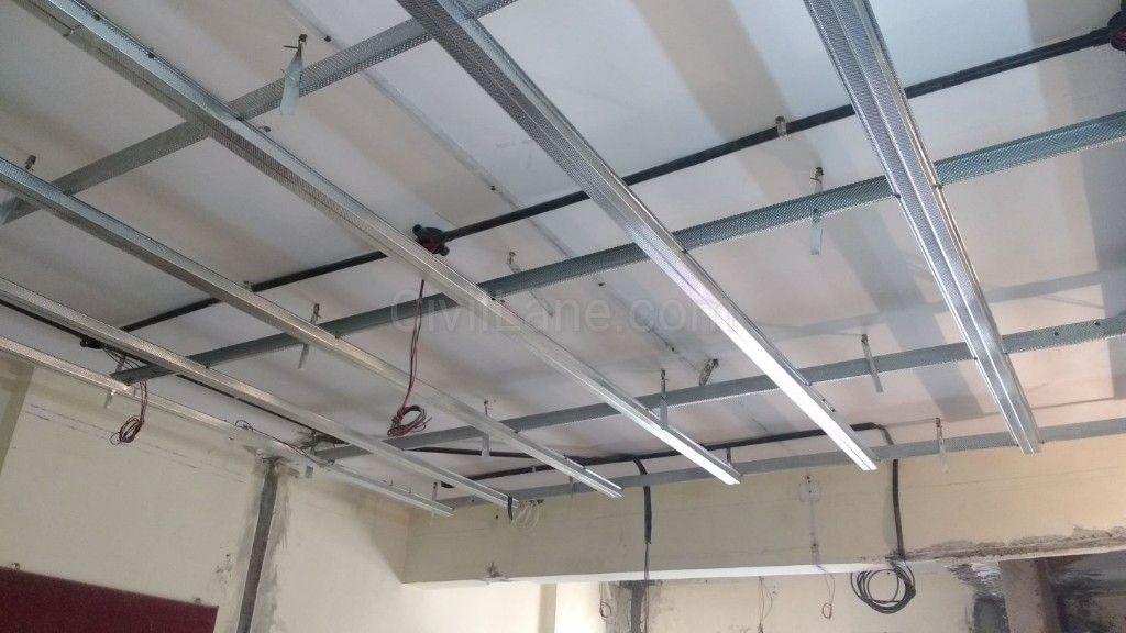 Aluminum False Ceiling Framing