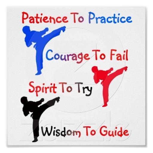 Karate Poster #karate #health #fitness #self defense #exercise #workout #children #families #interio...