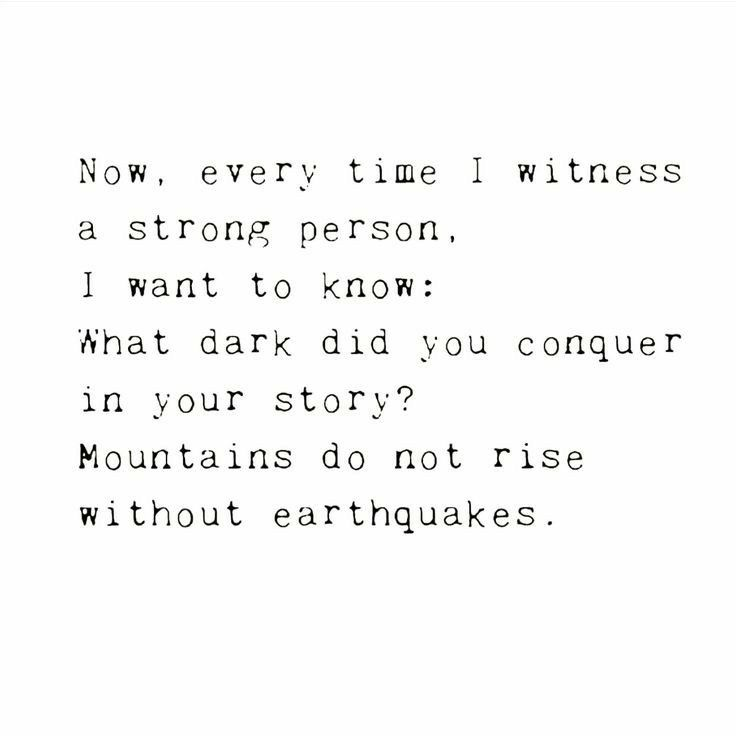 What dark did you conquer?   on We Heart It