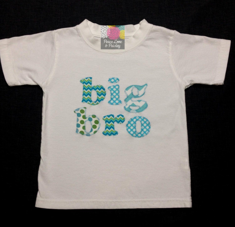Big Brother Shirt Sibling Shirt Big Bro Shirt Baby