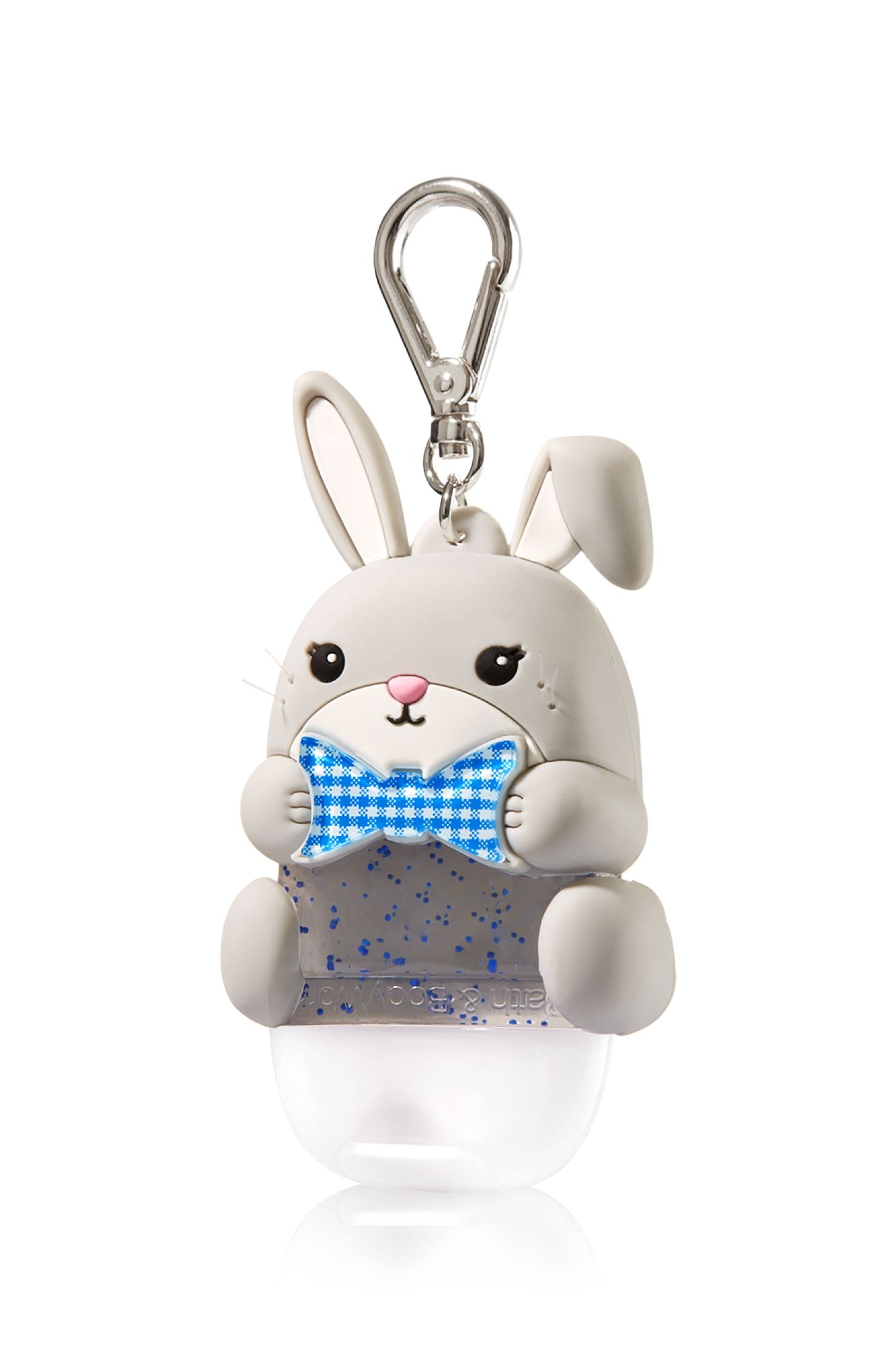 Gingham Easter Bunny Pocketbac Holder Bath Body Works Bath