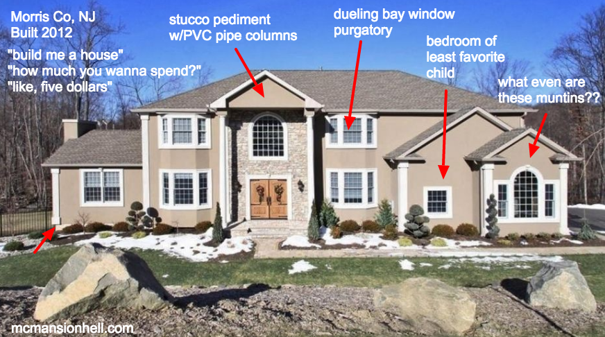 Cheap Mansions an architecture expert reveals 19 of the ugliest mcmansions in america