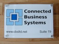 Company Signs Custom Office Door And Outdoor Business Acrylic Plaque Made