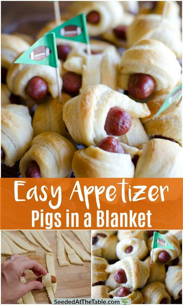 2-Ingredient Pigs in a Blanket