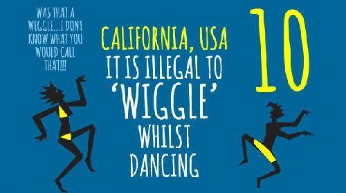 Dumb laws in california
