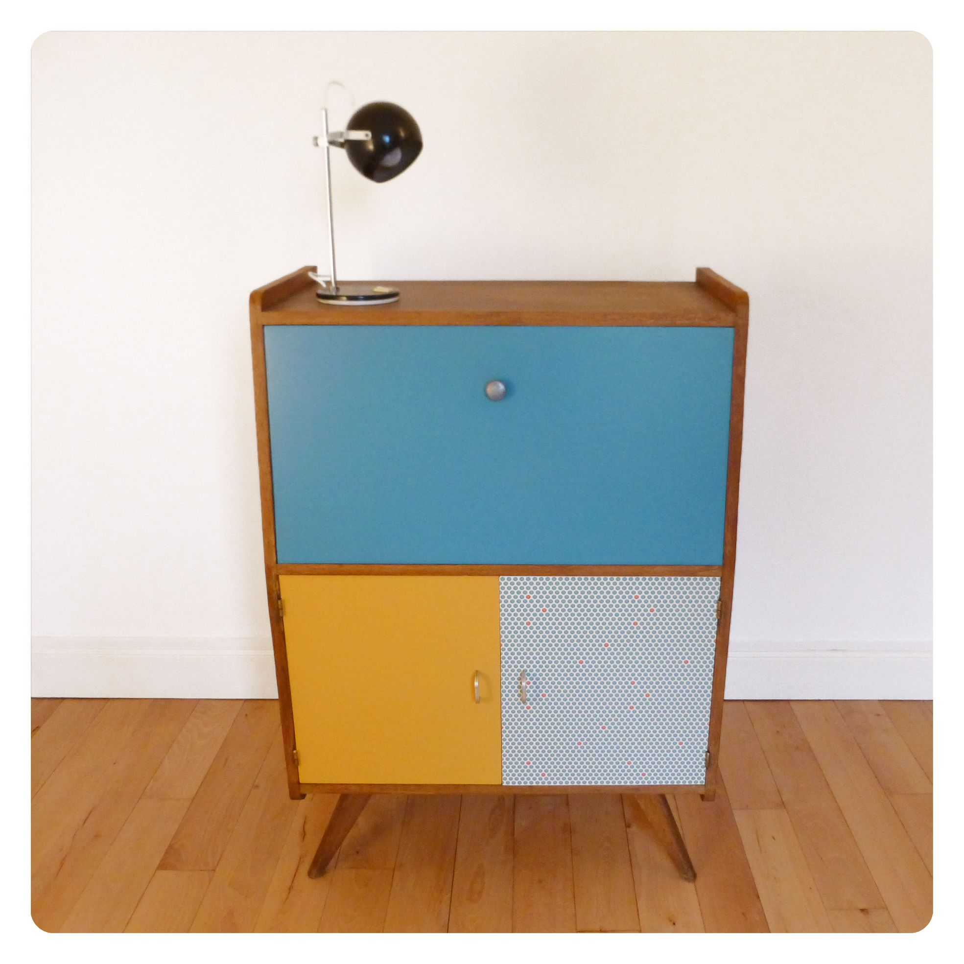 Secretaire vintage mes petits meubles vintage for Petit secretaire