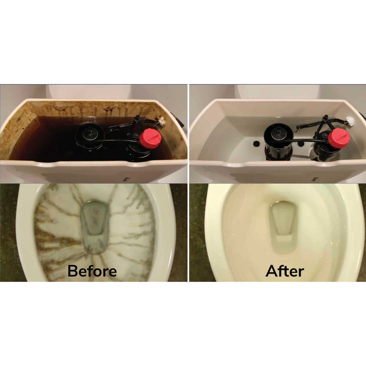 Hurriclean Toilet Cleaner 3 Pack Toilet Cleaning