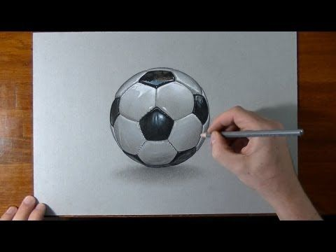 Pin By Kristelldiaz On Drawing Clips Soccer Ball Soccer Drawing Realistic Drawings