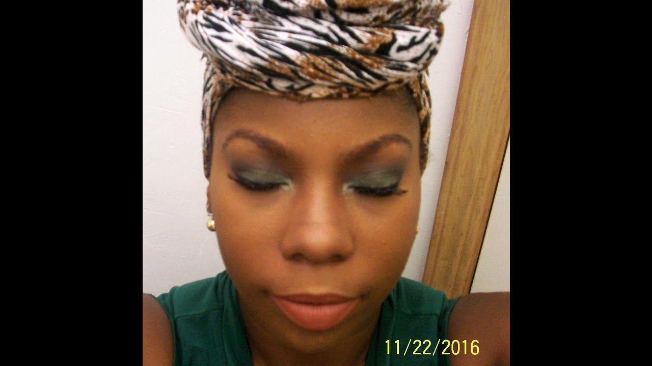 Christmas Series: Green and Brown Eyeshadow