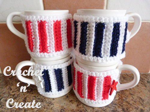 Easy Button Mug Cozy | Cubiertos y Vasos