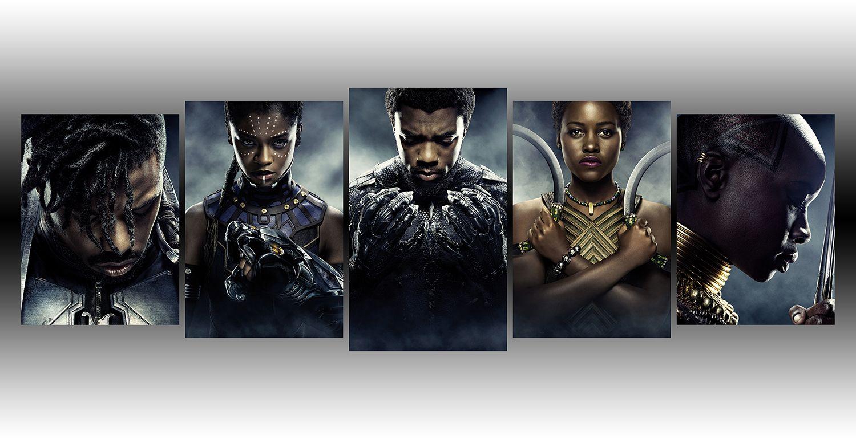 Black Panther Wakanda Forever Wall Art Black Panther Black Panther Marvel Marvel