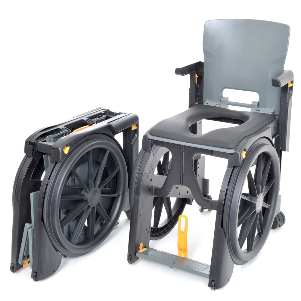 Wheelable Folding Shower Commode Chair Commode Chair Shower Chair Shower Commode Chair