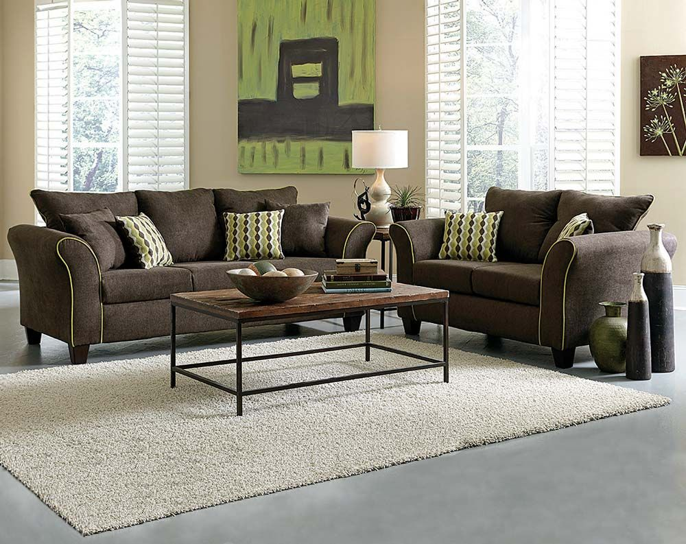 Surprising Brown Couch Set Lime Green Accents Felix Chocolate Sofa Squirreltailoven Fun Painted Chair Ideas Images Squirreltailovenorg