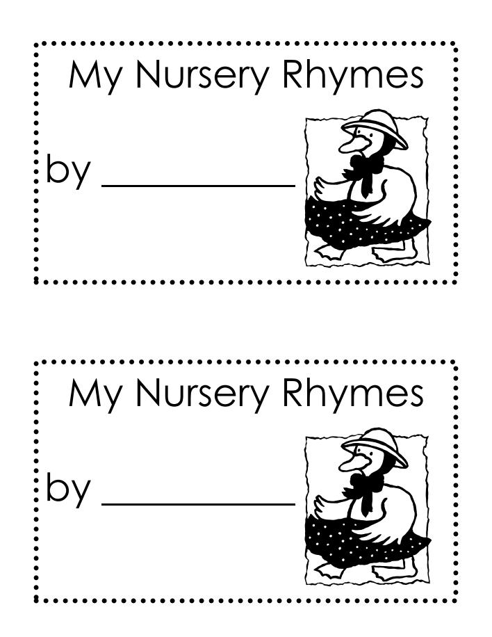 nursery rhymes.pdf | Nursery rhymes, Rhyming books, Rhymes