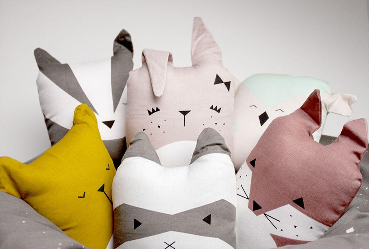 Fabelab Kissen Friendly Fox Tierkissen Niedliche Kissen Und