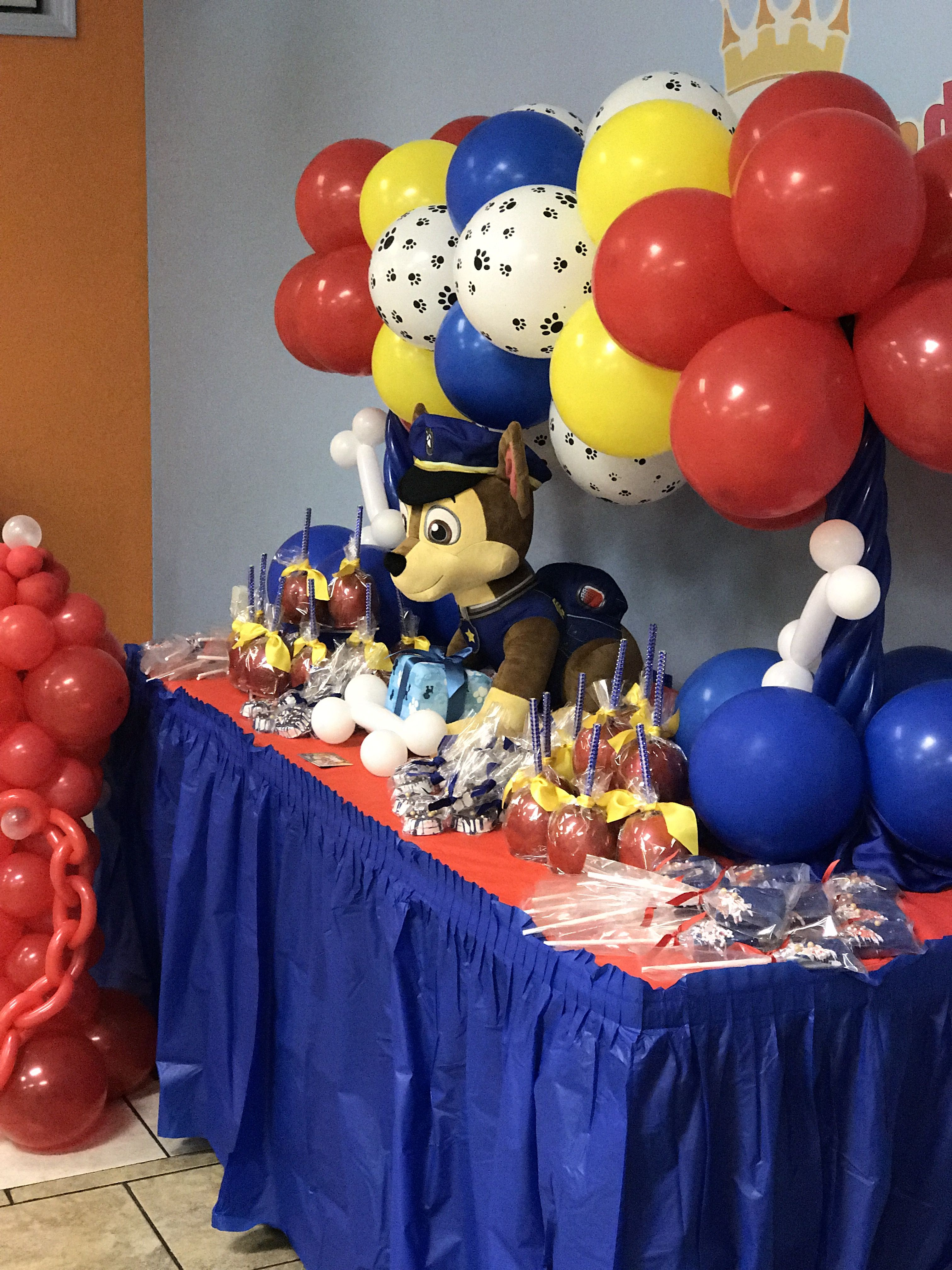 Paw Patrol Candy Table And Decor Paw Patrol Party Decorations Paw Patrol Birthday Party Paw Patrol Party