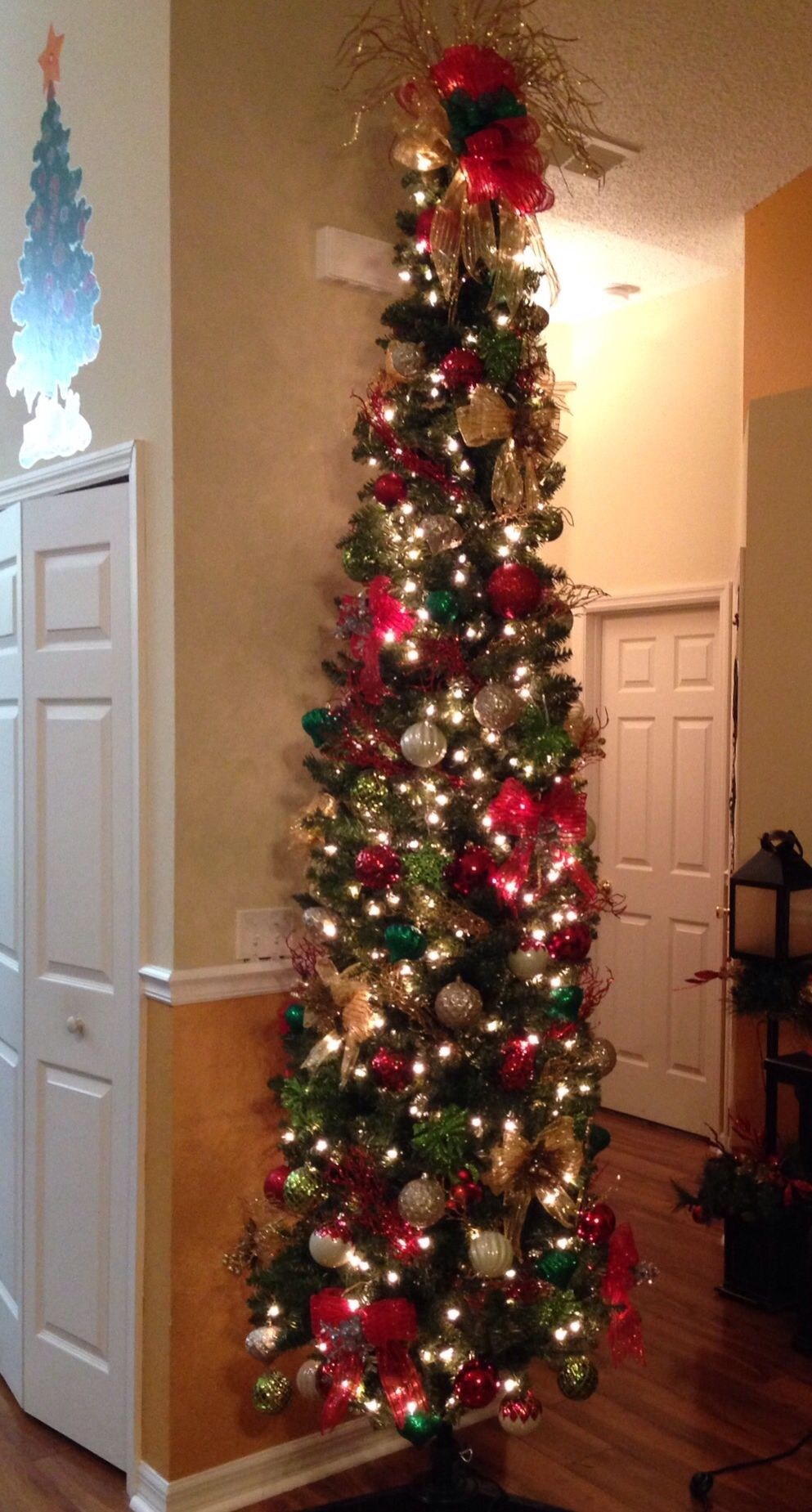 2014 Christmas tree... our first pencil tree.   Pencil ...