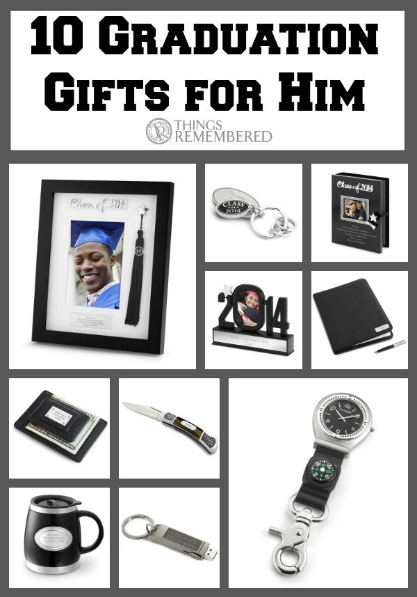 10 Graduation Gifts For Him Personalized Graduation