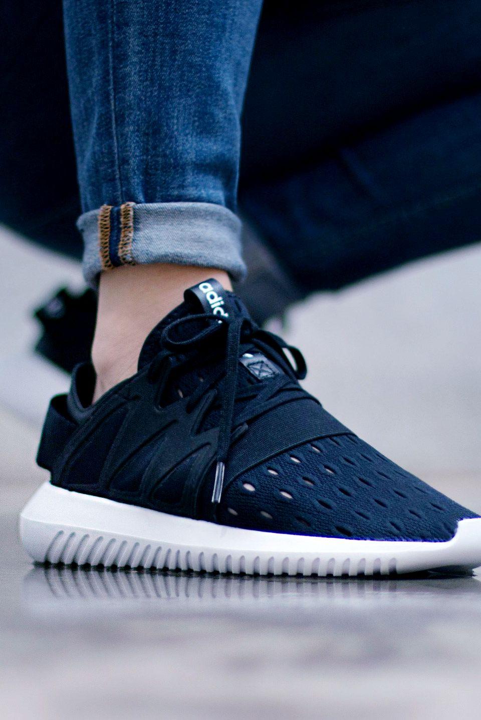 0e495b4ff907 adidas Tubular Viral W  Black   White  (via Kicks-daily.com)