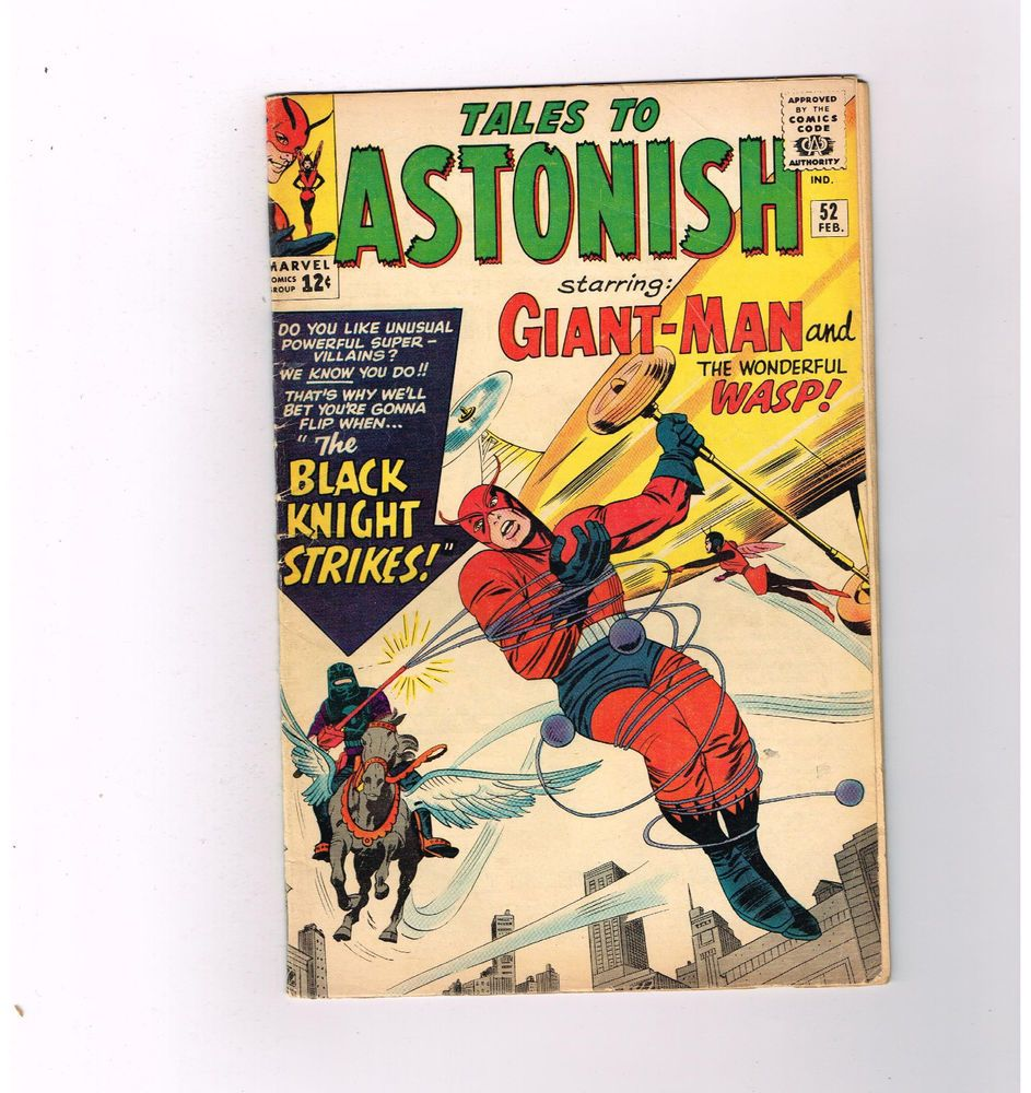 TALES TO ASTONISH #52 Silver Age find from Marvel starring Giant-Man & Wasp!  http://www.ebay.com/itm/TALES-ASTONISH-52-Silver-Age-find-Marvel-starring-Giant-Man-Wasp-/301510153993?roken=cUgayN&soutkn=SLlsFZ